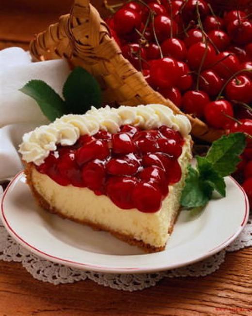 Начинка из вишни для пирога
