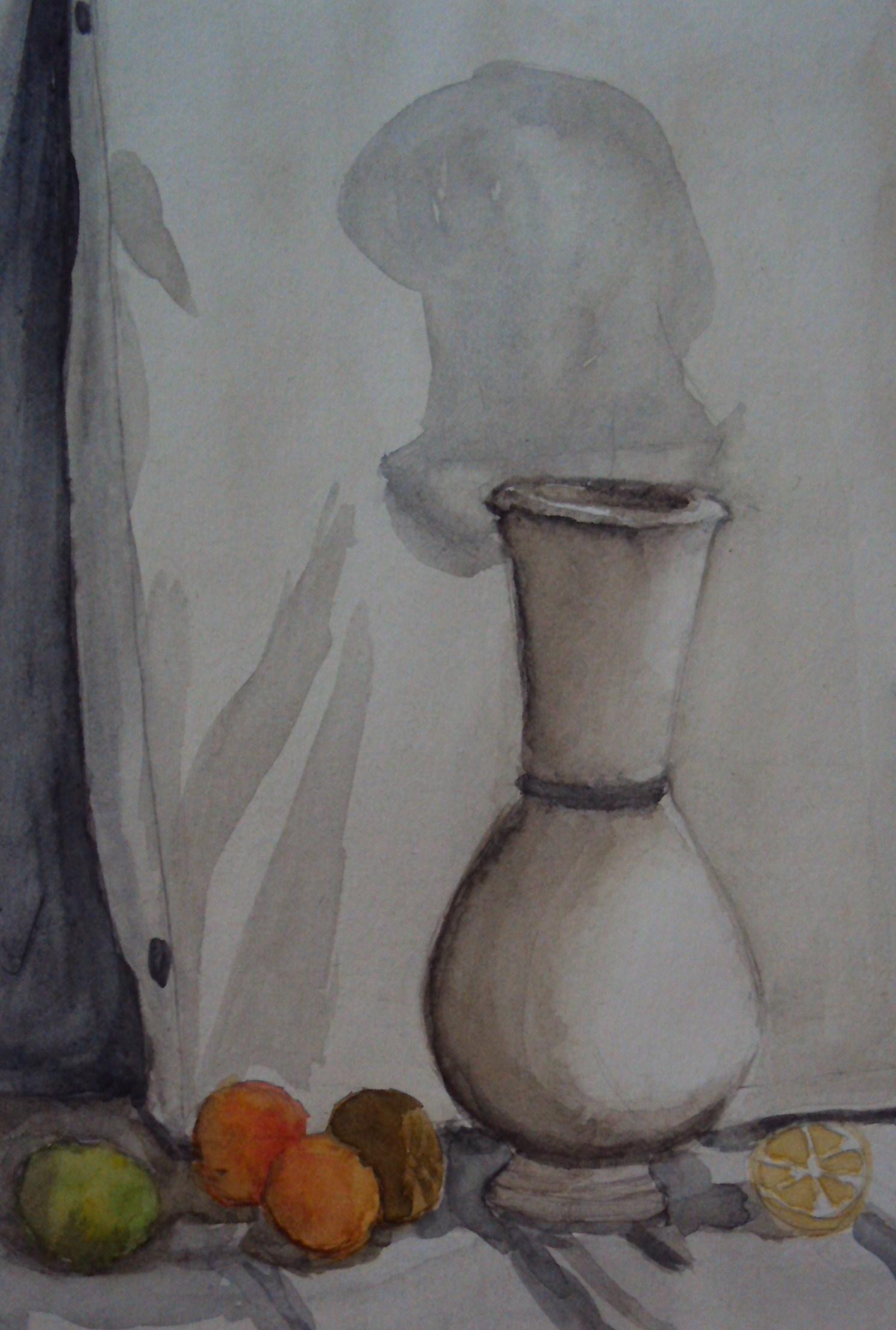 как рисовать вазу карандашом: