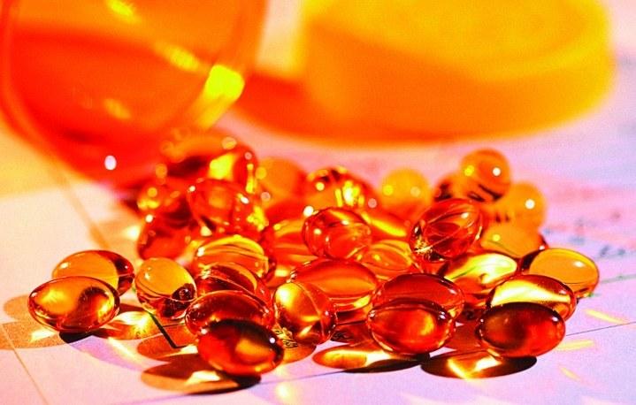 кислоту и витамин Е еще на