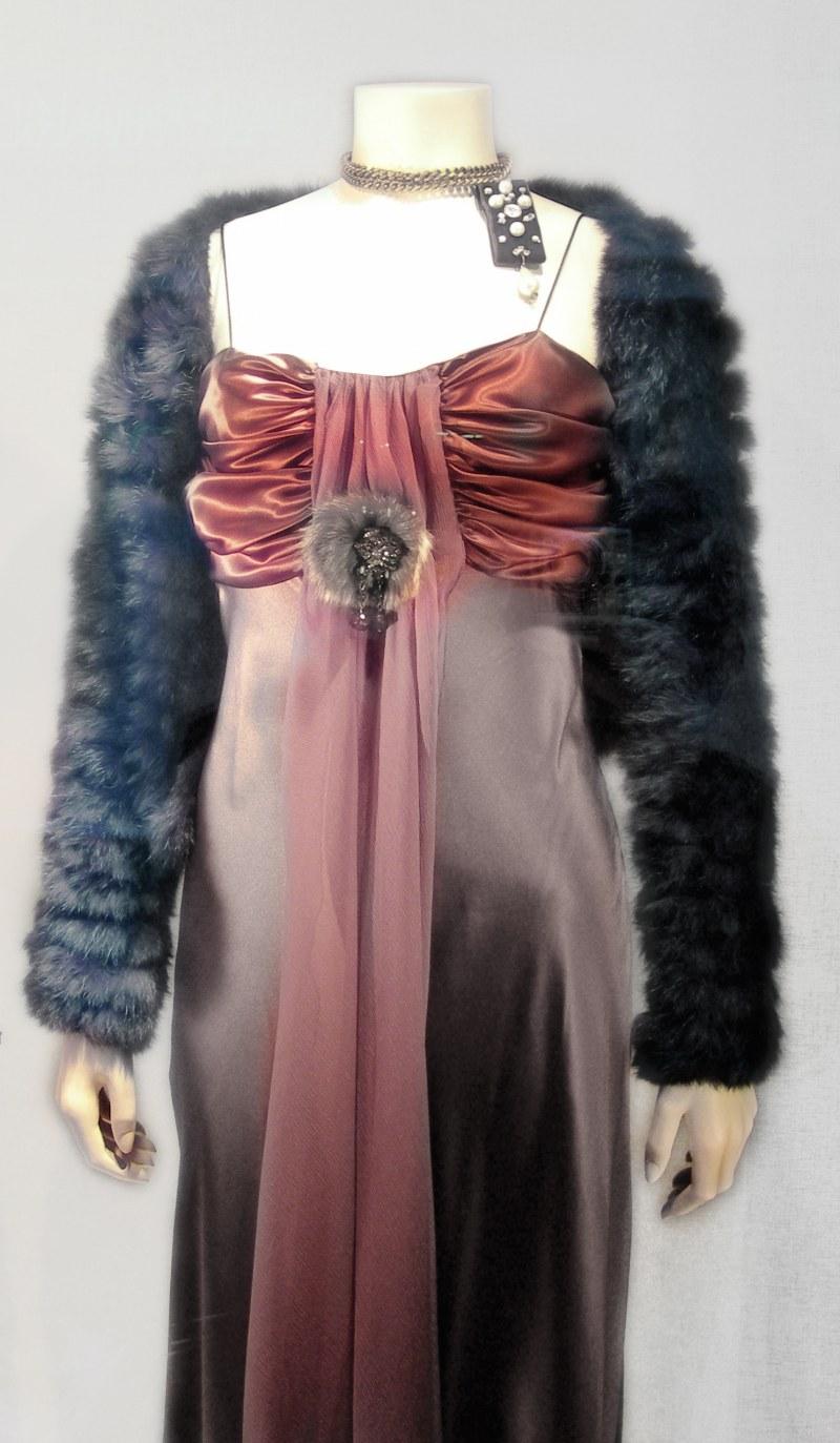 Платье сшить ниткой резинкой