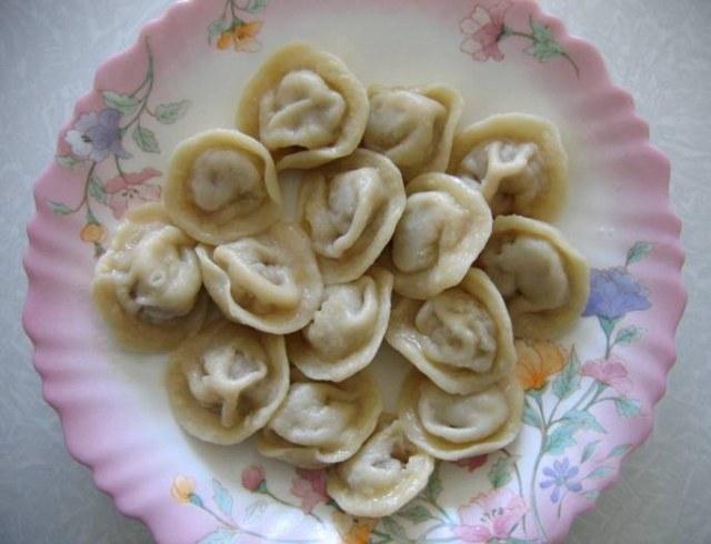 Чучвара, узбекские пельмени, пошаговый рецепт с фото.