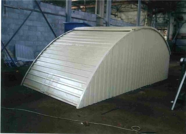 Конструкция гаража ракушки купить гараж в балашихе гск рассвет