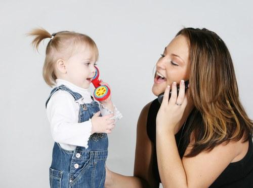 Общаться с ребенком