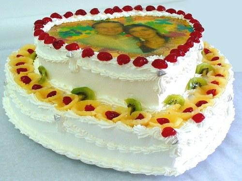 фото на торте как сделать