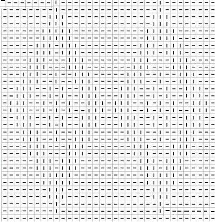 Схема узора «Ромбы»