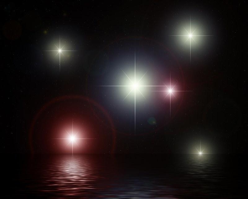 Почему звёзды мерцают разными цветами