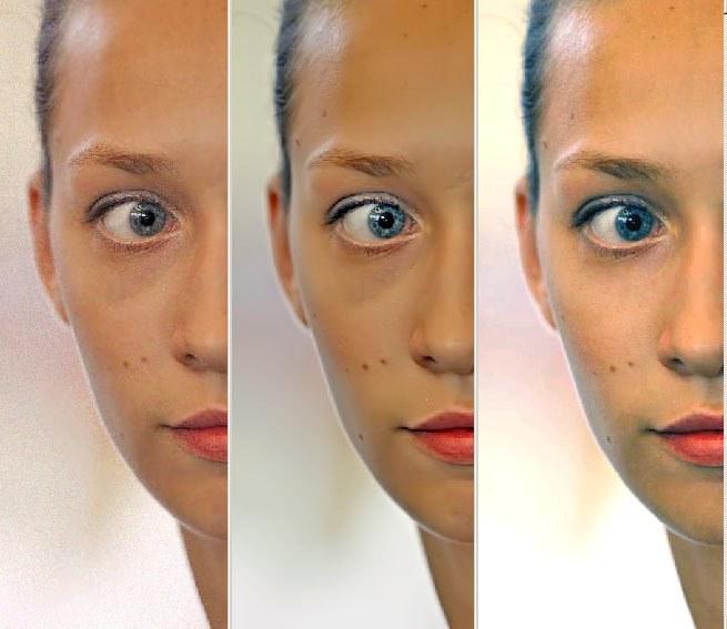 Как сделать кожу посветлей 789