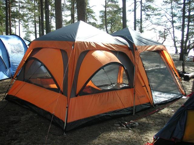 Отремонтировать палатку