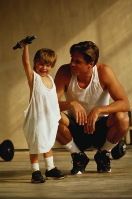 фото спортивные семьи