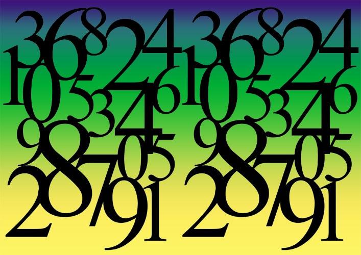 натуральные числа картинки