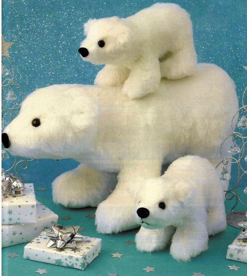 белого руками сшить медведя своими
