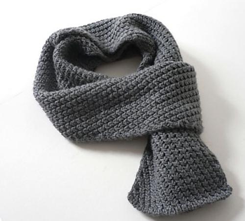Вязать шарф крючком детям