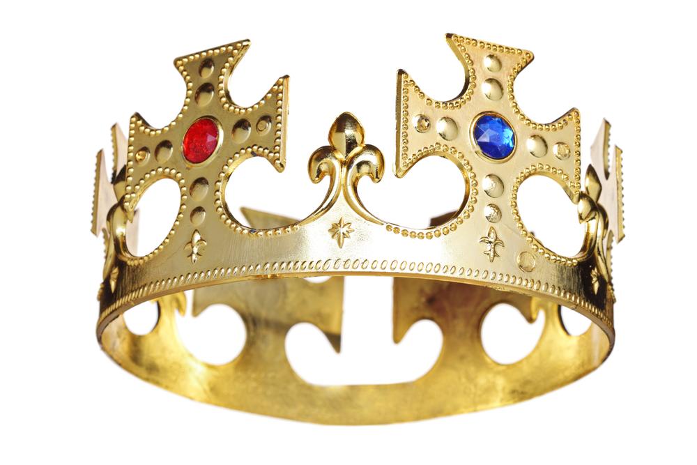 Корона царя своими руками из бумаги