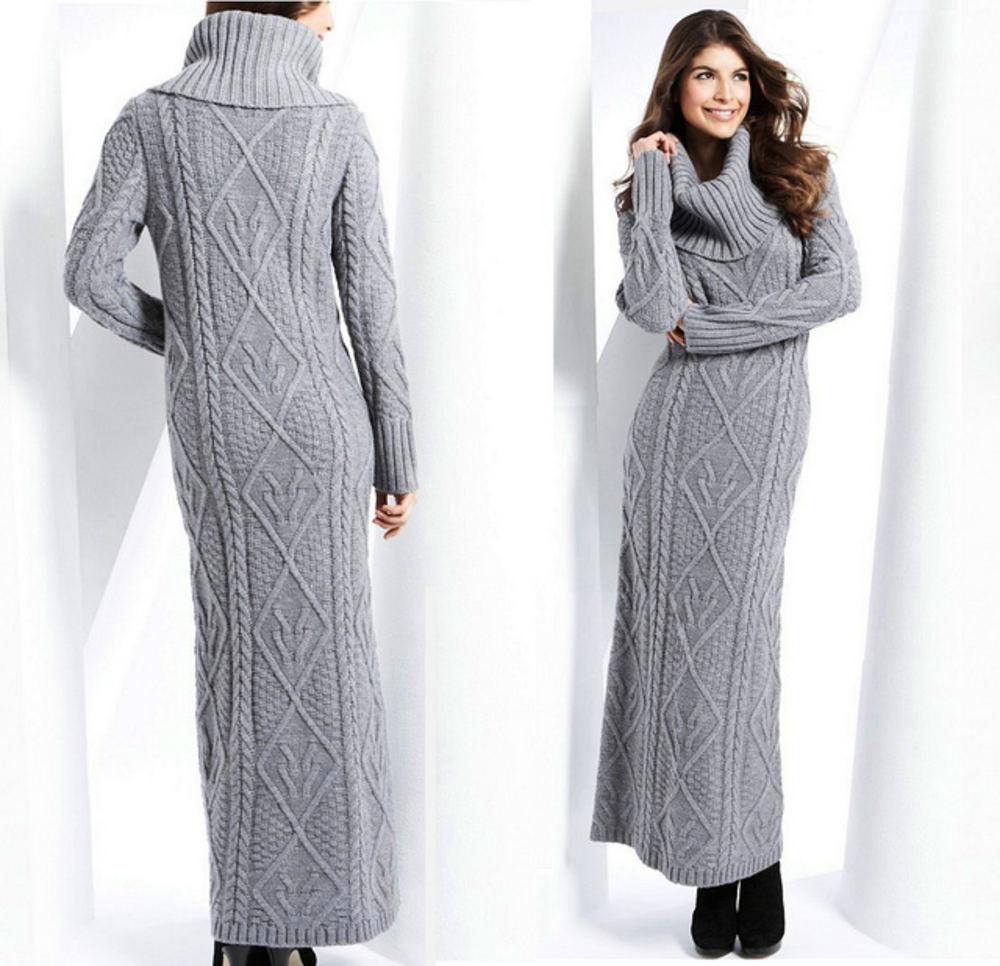 Удлиненные женские платья