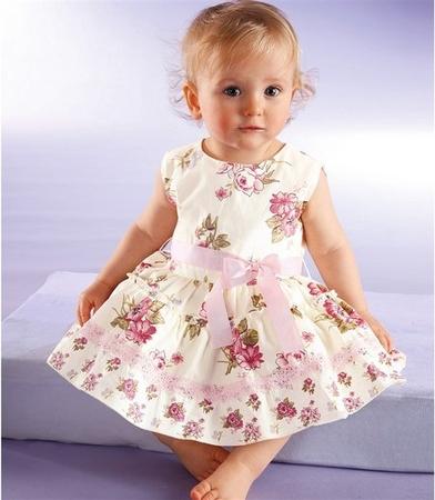 Как пошить платье девочке 3 лет