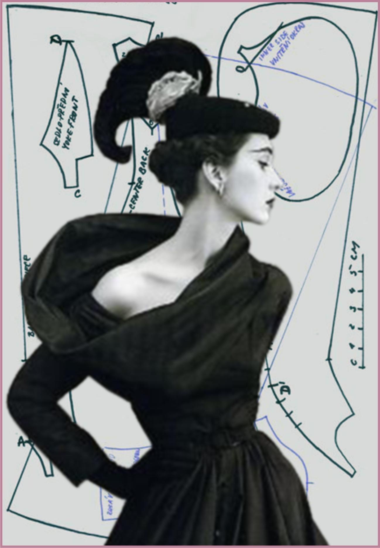 Платья в стиле стиляг с выкройками фото 886
