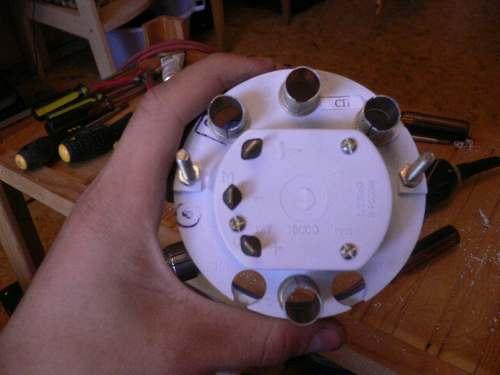 Как подключить тахометр в вазе