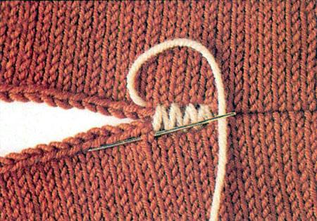 как сшивать вязаные детали сшивание вязаных деталей мода и