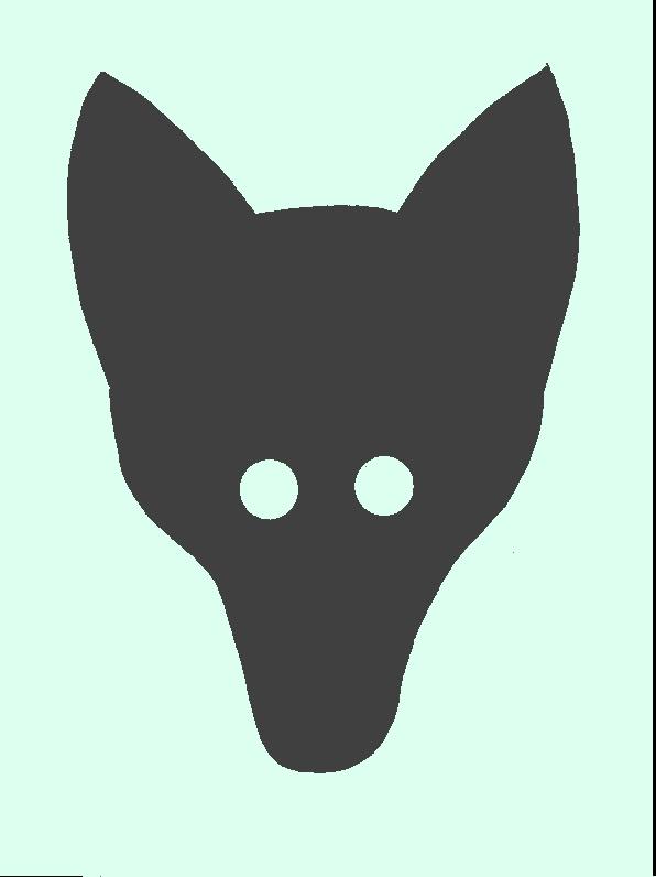 Маска из картона своими руками волка