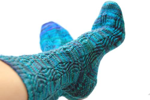 Совет 1: Как вязать носки на 5
