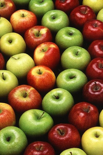 Если кушать только яблоки