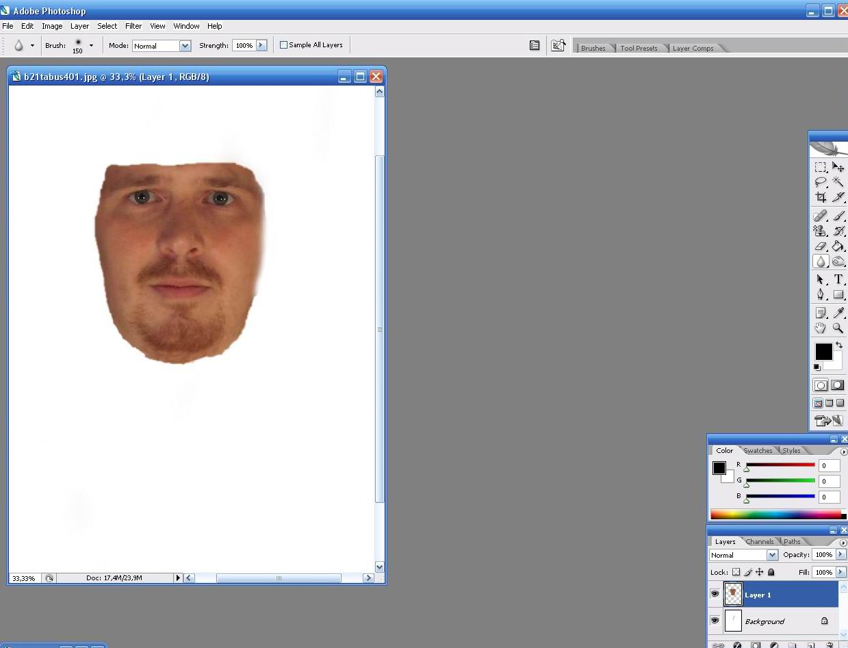 инструкция как вырезать фото в фотошопе