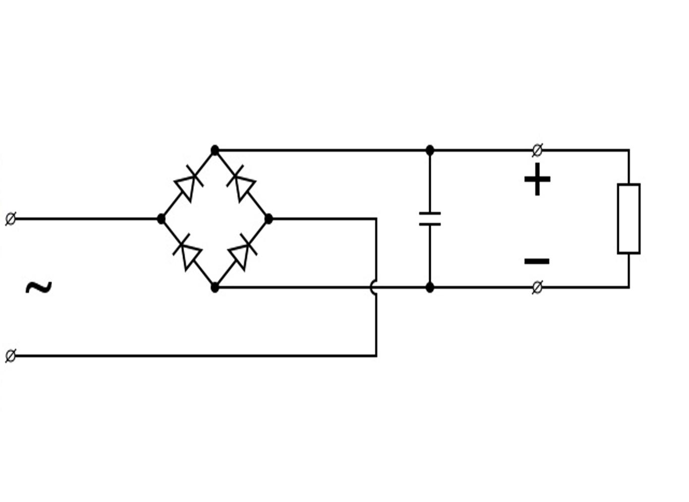схема постоянный ток в переменный
