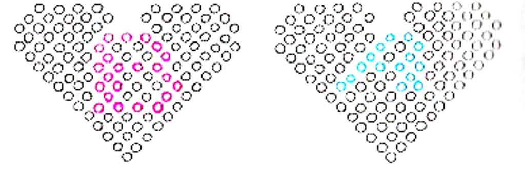 схемы плетения букв из