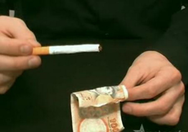 Как сделать обычную сигарету 71