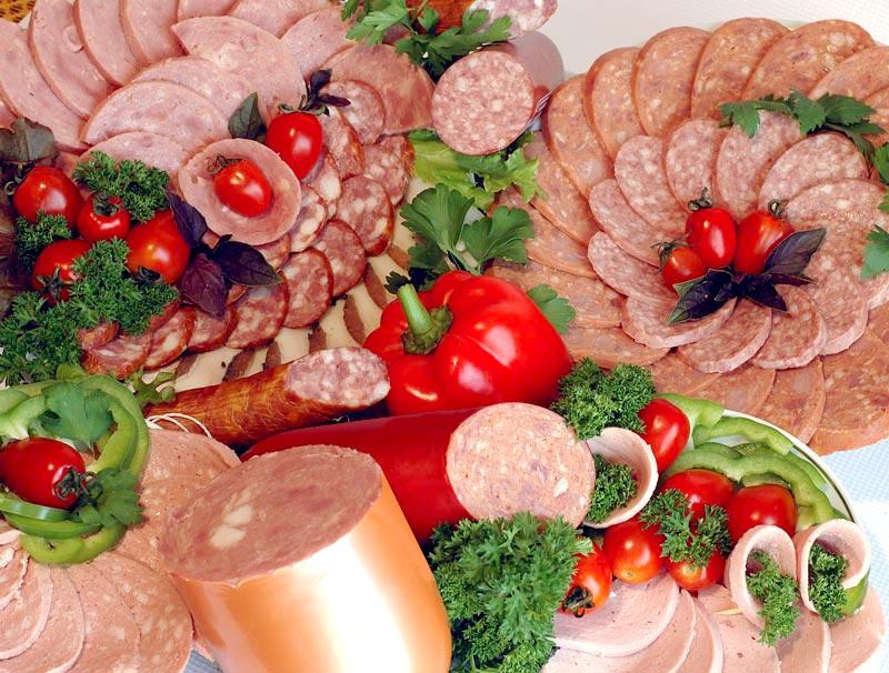 Ассорти мясное рецепты с фото Оформление мясной тарелки