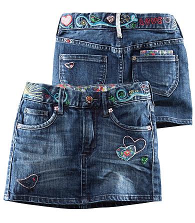 Джинсовая юбка выкройка из джинс