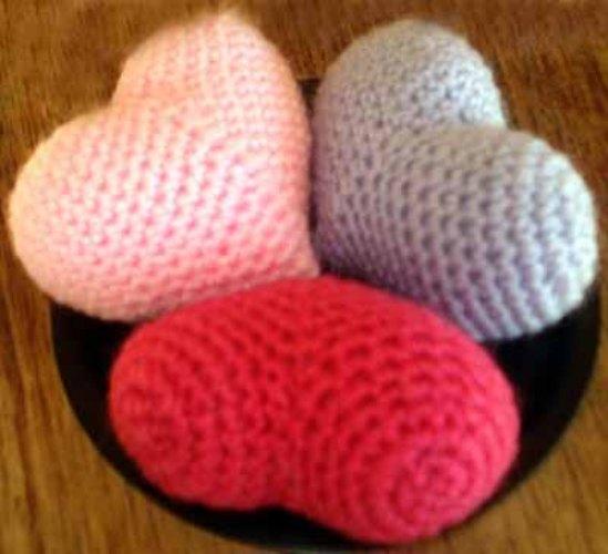 как связать крючком сердце вязание крючком сердце рукоделие