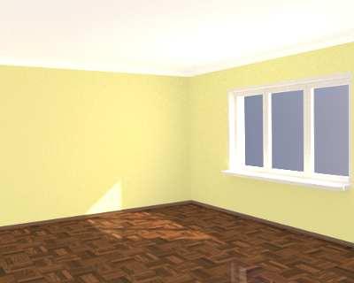 Комната без мебели рисунок Смеситель Kolpa San Rav Slezak Niagara 2894400 на борт ванны, золото