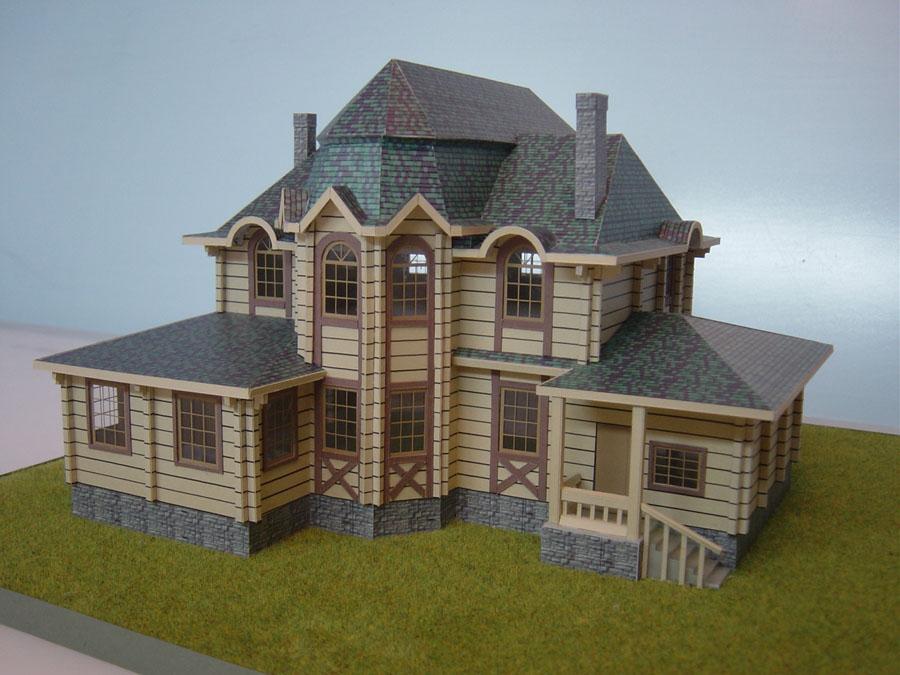 Макеты домов сделать своими руками 40
