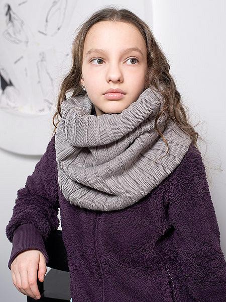 Вязание как связать шарф хомут 603