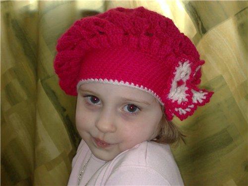 Детские панамки. Схемы вязания, увлечения и хобби 80