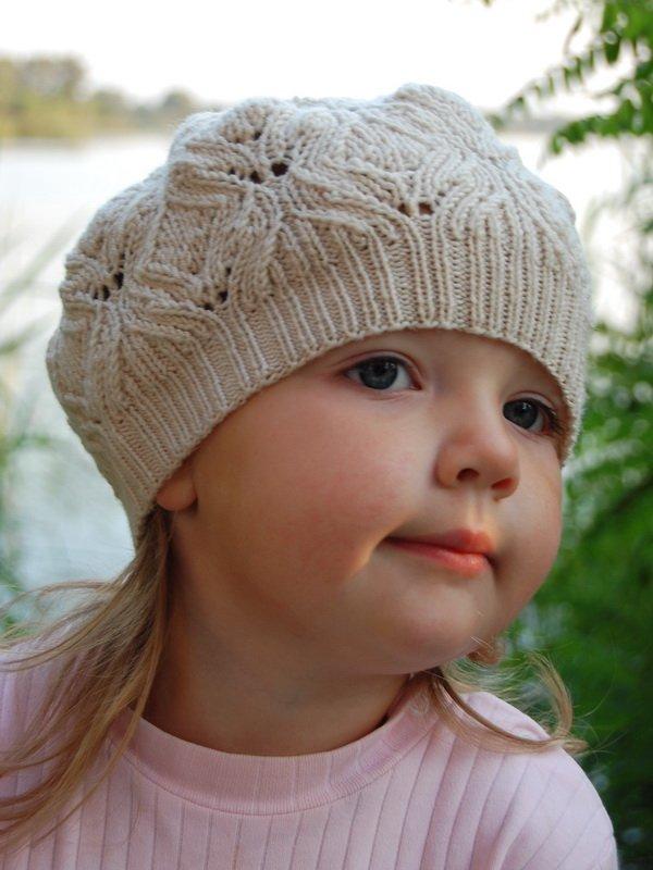 Вязание крючком для малышей берет