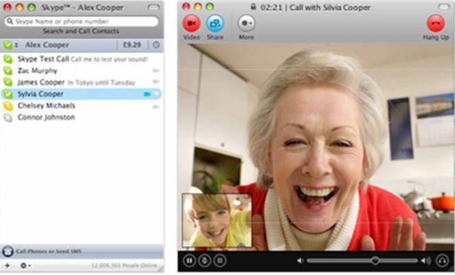 Виртуальное общение через камеру