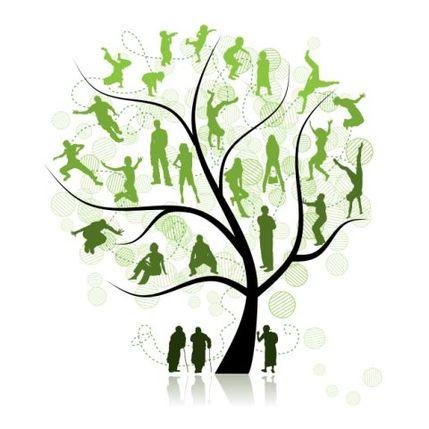 Как правило, семейное дерево