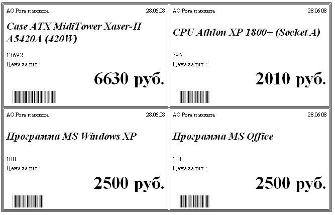 требования к ценникам на товар 2016 образец - фото 9