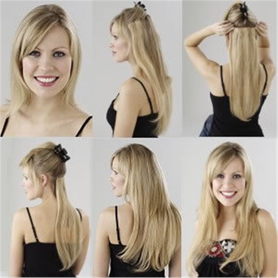 Как прикрепить накладные волосы
