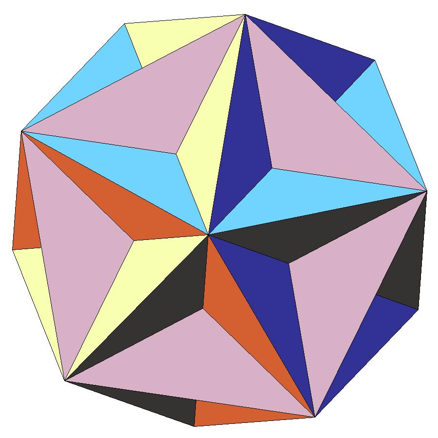 Как из картона сделать многогранник фото 284