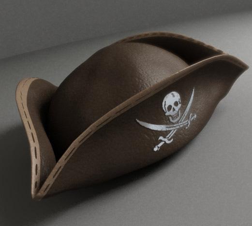 Сшить пиратскую шляпу своими руками