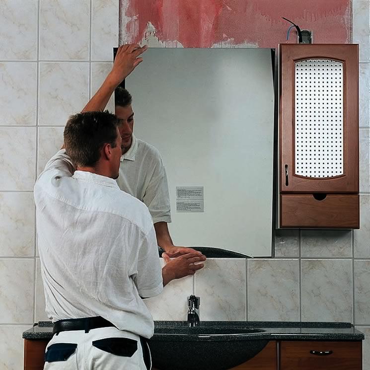 Зеркало в стене своими руками