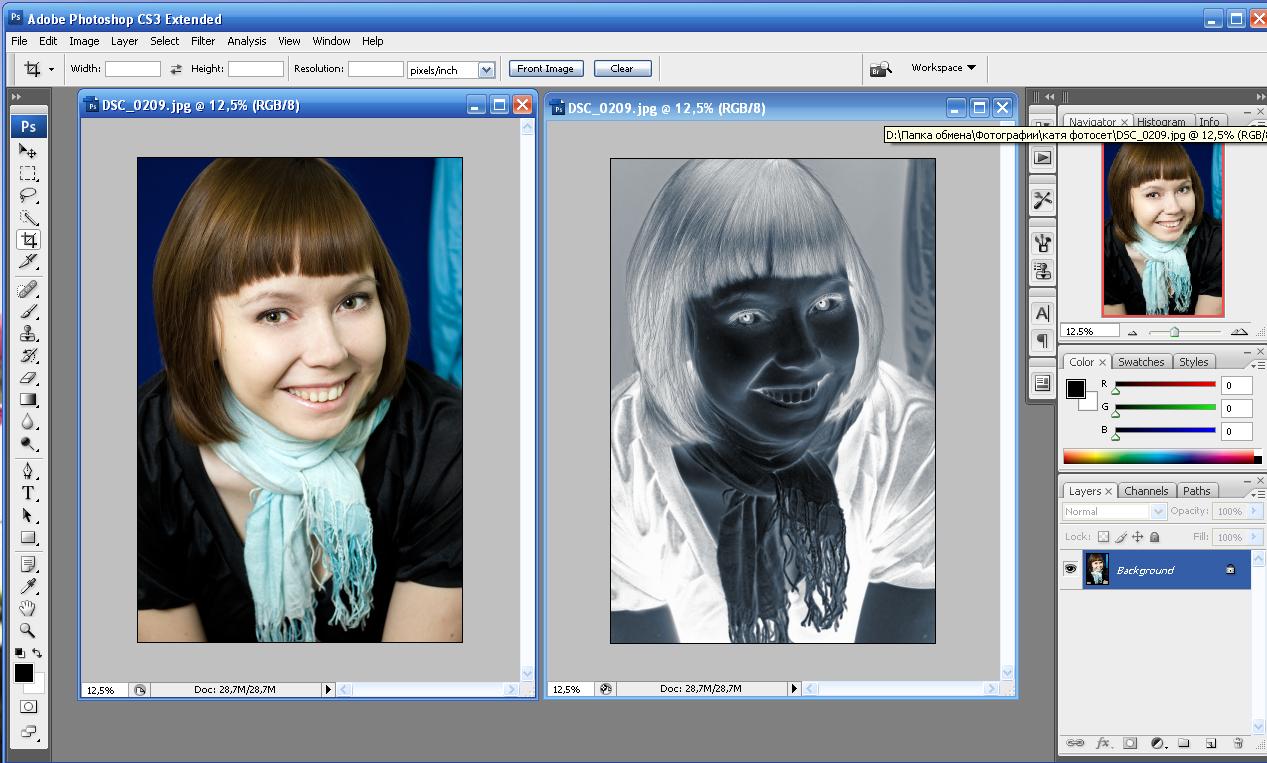 как сделать из мутной фотографии четкую в фотошопе