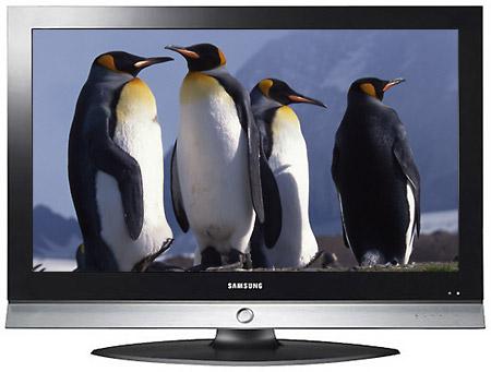 на телевизоре Samsung
