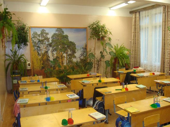 оформление класса начальной школы фотографии