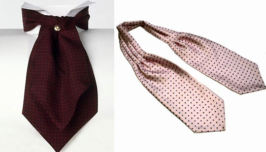 завязанный галстук.