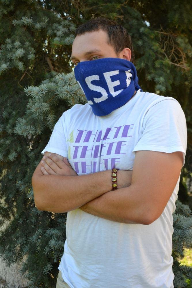 Как правильно завязывать фанатский шарф фото 360-455