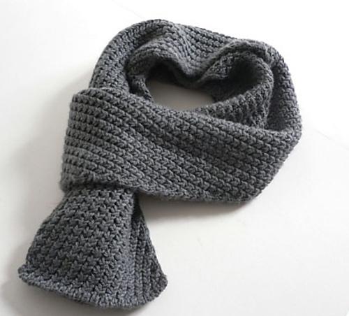 например, шарф,